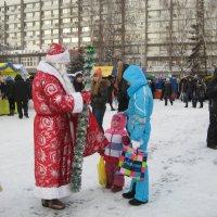 Дед Мороз-то настоящий! :: Лариса Андреевна Москаленко