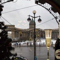 Елка на площади Казанского собора в Санкт-Петербурге. :: Василий Голод