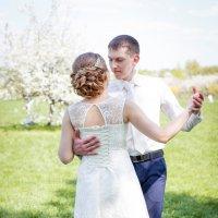 весенний танец любви милых молодоженов :: Елизавета Ск