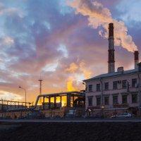 Индустриальный пейзаж :: Aнна Зарубина