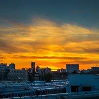 городской закат :: Олеся Семенова