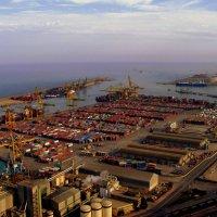 Барселонский порт. Красота и только! :: Лара Амелина