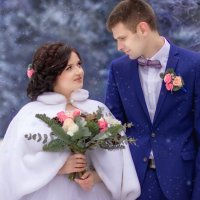 зимняя свадьба :: Алла Денщикова