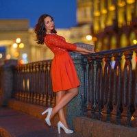 Вечерняя прогулка :: Ирина Симухова