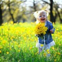 На цветочном лугу :: Андрей Ильин