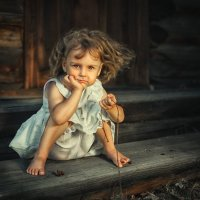 Детство в деревне :: Юрий Кащенко