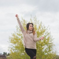 Настроение - танцевать :: Аделина Ильина