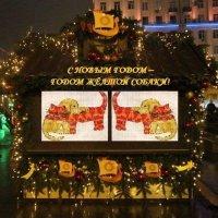 С Новым Годом - Годом Жёлтой Собаки! :: Дмитрий Никитин