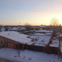 Утро.Вид из окна. :: Александр Подгорный