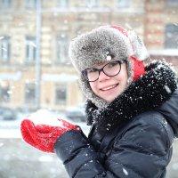 Доброе снежное утро) :: Наталья Толки