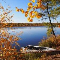 Утро на озере :: ГАЛИНА Баранова