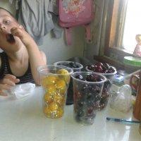 завтрак в поездке :: Вероника