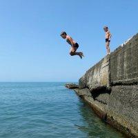 Вот бы и мне так прыгнуть! :: Татьяна Смоляниченко