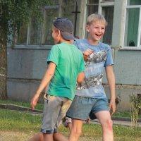 Момент игры в футбол :: Григорий Капустин