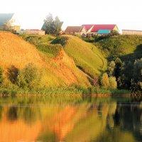Золотой закат... :: Dmitry Saltykov