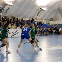 Соревнования по женскому гандболу :: Яна Глазова