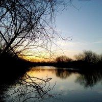 Река на закате :: Татьяна Королёва
