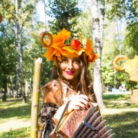 Прекрасная осень :: Дарья Рыбникова