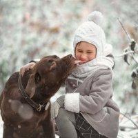 Собачий поцелуй :: Arma Gray