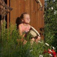 Солнечная девочка. :: Ольга