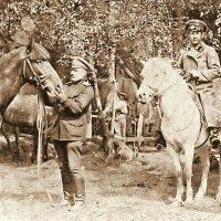 Германский фронт, 1915 год, поевой госпиталь. :: Геннадий Храмцов