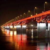 Мост через Енисей :: Александр Кочуркин