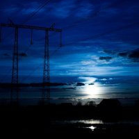 Ночь в деревне :: Оксана Зимнова