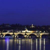 Ночная Прага :: владимир полежаев