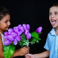Тюльпаны :: Мария Цечоева