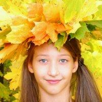 Девочка - осень :: Raduzka (Надежда Веркина)