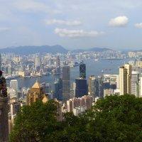Вид на Гонконг и Коулун :: Леонид