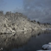 Зимнее отражение. :: Павел