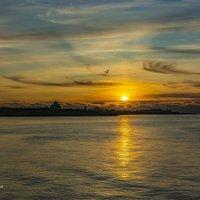 Прекрасная тишина заката... :: Александр Пушкарёв