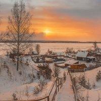 Ноябрьский закат :: Ольга