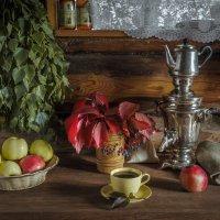 Чай после бани. :: Олег Бабурин