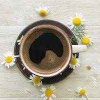 Кофе с ромашками.. :: ФотоЛюбка *