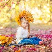 Осенняя детская фотография :: Виктория Рябчунова