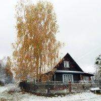 Золотая осень в деревне :: Юрий Пучков