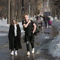 Весенняя прогулка :: Олег Терёхин