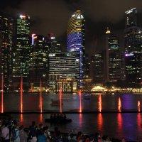 Ночной Сингапур. :: Нина Сироткина