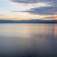 Закат на озере Тургояк. :: Алексей Трухин
