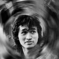музыкант, потрет. :: Антон Летов