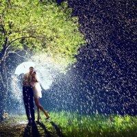 Живописный дождь :: Евгений Иванов