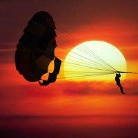 Минуты свободы на закате дня... :: Анастасия Кузнецова