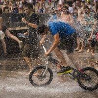 водно-велосипедный экстрим :: Владимир Колесников