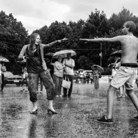 Танец дождя... :: Владимир Шитиков
