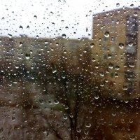 Осенний дождь. Вид из окна :: Дмитрий Васильев