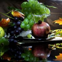 Натюр с фруктами. :: Татьяна Беляева