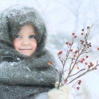 Зимний портрет. :: Элеонора
