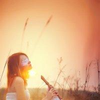 Девочка с флейтой :: Елена Чусовская
